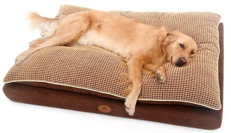 Pillow dog bed